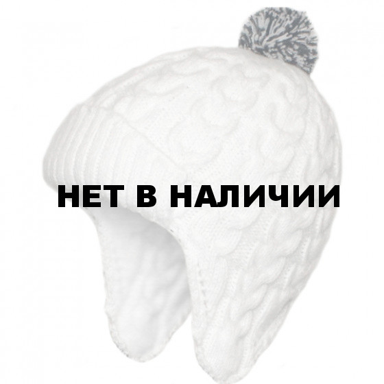 Шапка полушерстяная marhatter женская 4474/1 белый
