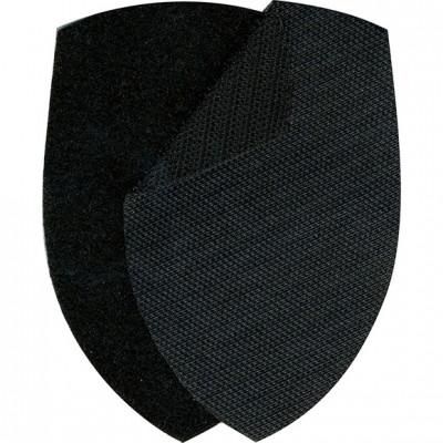 Липучка для шевронов Полиция МВД черная