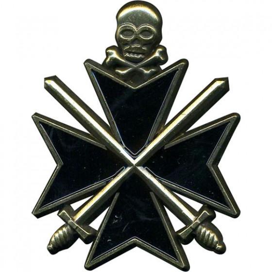 Магнит Крест Бермонт-Авалова металл