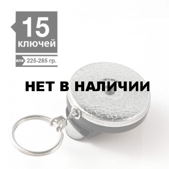 Ретрактор KEY-BAK #4 цепь 60см текстурный хром