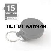 Ретрактор KEY-BAK #484B-HDK кевлар 120см черный винил