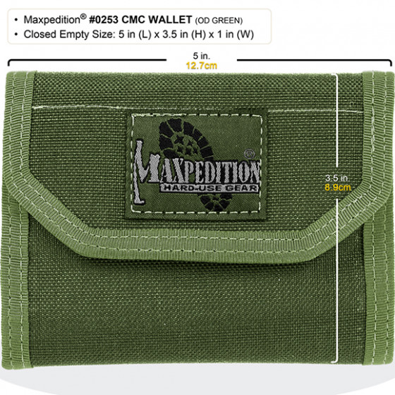 Кошелек Maxpedition C.M.C. Wallet OD Green