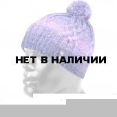 Шапка полушерстяная marhatter женская 4418/1 сирень