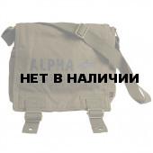 Сумка Alpha Industries Canvas Utility Bag olive green