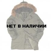 Куртка N-3B Slim Fit Cotton Alpha Industries olive
