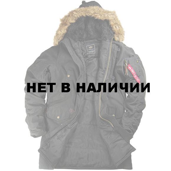 1ed4d616 Куртка N-3B Slim Fit Cotton Alpha Industries black, производитель ...
