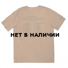 Футболка Alphabet Alpha Industries almond