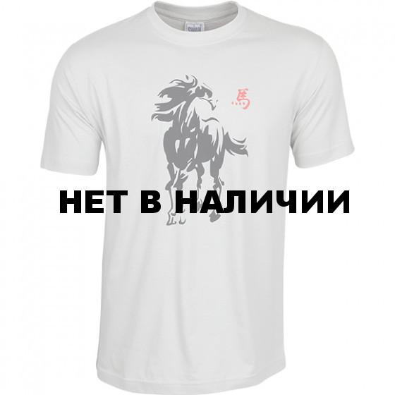 Футболка сувенирная Конь-2014