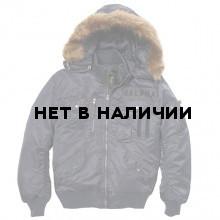 Куртка Deflector Flight Jacket Alpha Industries steel blue