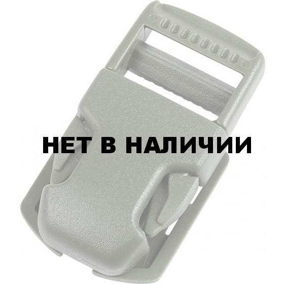 Пряжка фастекс на подложке 25 мм 1-15000/1-15707/1-15709 (3 части) одна регулировка черный Duraflex