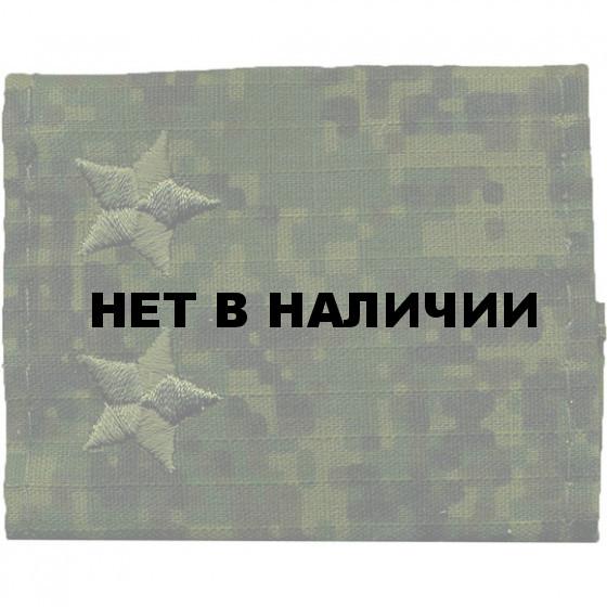 Фальшпогоны Подполковник город вышитые люрекс
