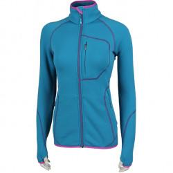 Куртка женская Function Polartec Power Stretch ярко синяя