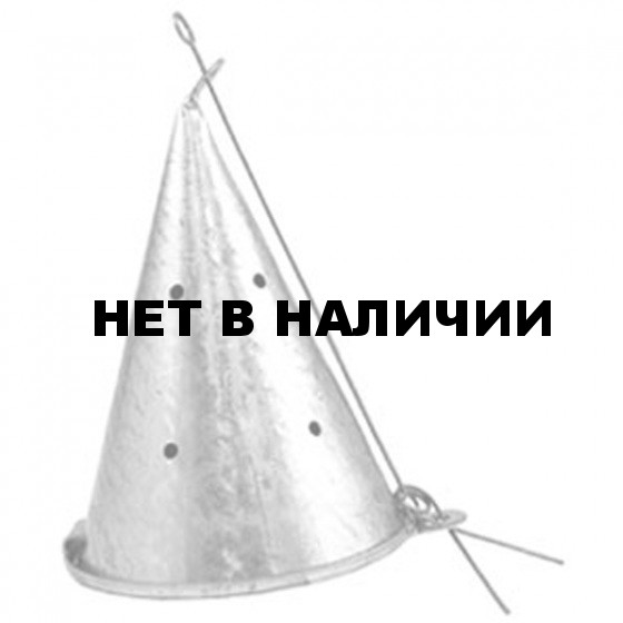 Кормушка зимняя SIWEIDA КОНУС металл. большая H-14см Д-9см (76