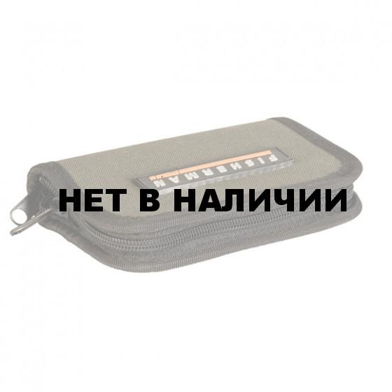 Кошелёк д/мормышек большой Ф-351 15см*22см FISHERMAN
