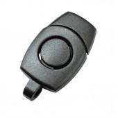 Держатель для ключей 12мм 1-08703/1-08704 черный Duraflex