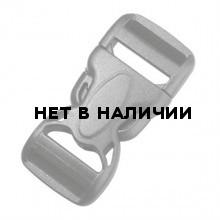 Пряжка фастекс 50 мм 1-17611/1-07612 (2 части) две регулировки черный Duraflex