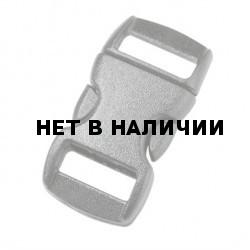 Пряжка фастекс 10 мм 1-17261/1-07262 (2 части) без регулировки серый Duraflex