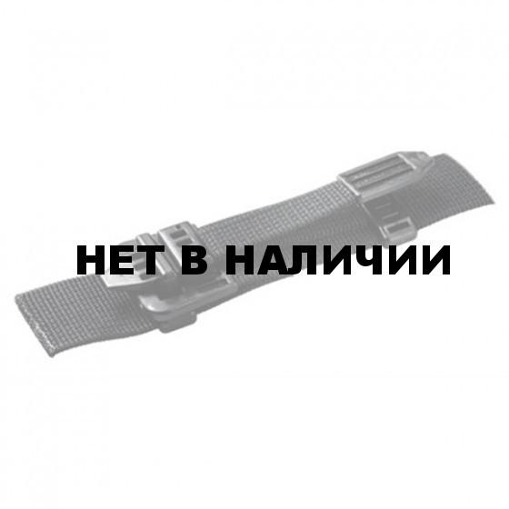 Пряжка бесшумная 25мм 1-10085/1-20085 (2части) черный Duraflex