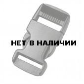 Пряжка фастекс 38 мм 1-14494/1-04507 (2 части) одна регулировка черный Duraflex
