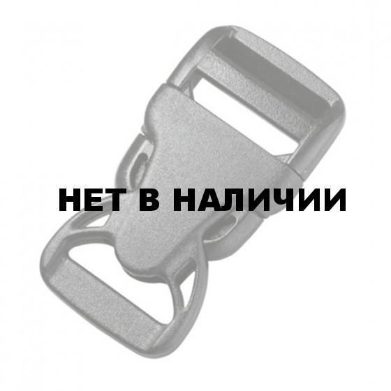 Пряжка фастекс 20 мм 1-17315/1-07316 (2 части) одна регулировка черный Duraflex