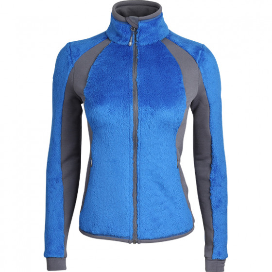 Куртка женская Bloom Polartec High-Loft blue/grey
