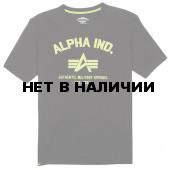 Футболка Authentic Military Apparel Alpha Industries black