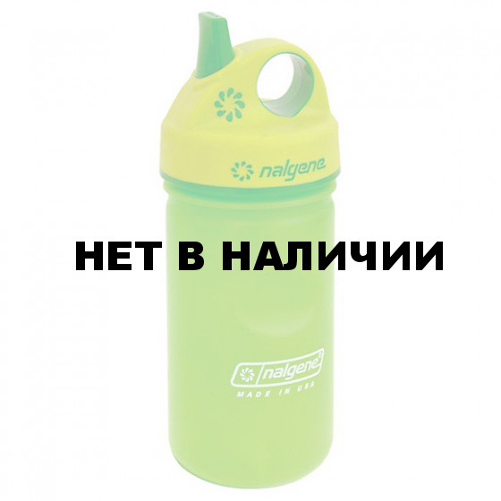 Бутылка Nalgene ULTRALITE GRIP N GULP SLIME GREEN