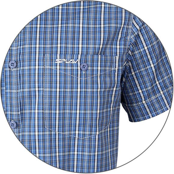 04b93e452764859 Рубашка мужская Sunburn клетка коричневая, производитель Компания ...
