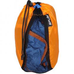 Мешочек сетчатый универсальный оранжевый 15x17