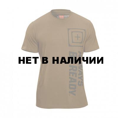 Футболка 5.11 Recon Abr Battle Brown