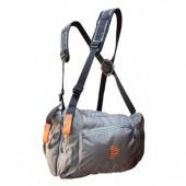 Система нагрудных сумок Ribz серый L