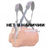 Система нагрудных сумок Ribz оранжевый M