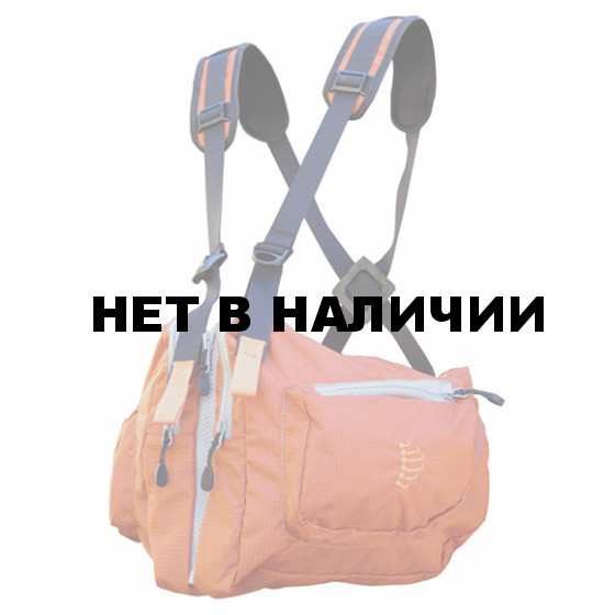 Система нагрудных сумок Ribz оранжевый S