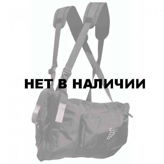 Система нагрудных сумок Ribz черный M
