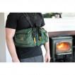 Система нагрудных сумок Ribz зеленый M