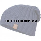 Шапка полушерстяная marhatter MMH 4823/1 серый/бежевый 118