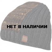 Шапка полушерстяная marhatter MMH 4980/1 коричневый 026