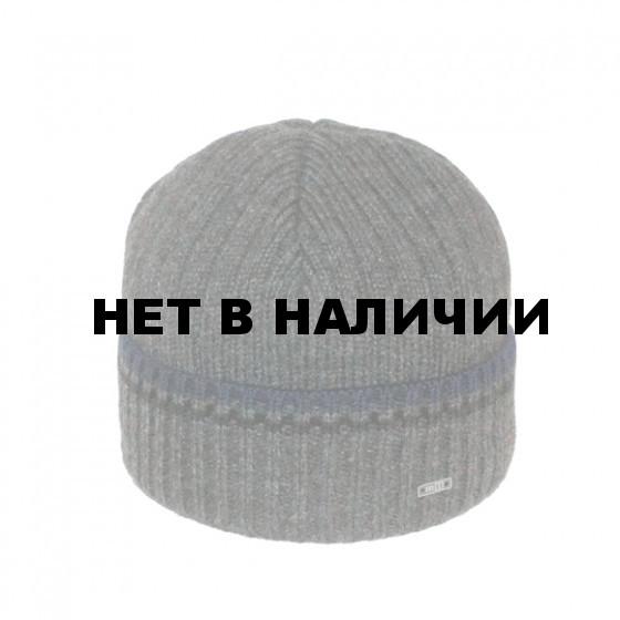 Шапка полушерстяная marhatter MMH 5329/2 т.серый