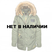 Куртка N-3B Inclement Parka Alpha Industries sage green