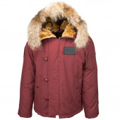 Куртка N-2B Elevon Alpha Industries red ochre