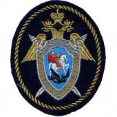 Нашивка на рукав Следственный комитет РФ вышивка люрекс