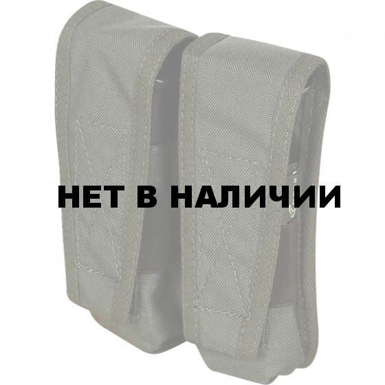 Блок из 2 подсумков под пистолетные магазины v.2 олива
