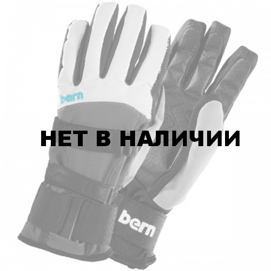 Перчатки жен. Women`s White/Grey Synthetic Gloves w/Removeable Wrist Guard