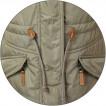 Куртка женская Alpha-S Primaloft biege