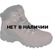 Ботинки трекинговые THB Route с мембраной темно-коричневые