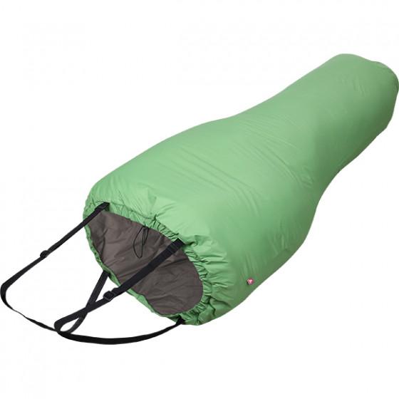 Спальный мешок укороченный Noga 60 Primaloft зеленый