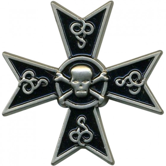 Магнит знак 5-го гусарского Александрийского полка металл