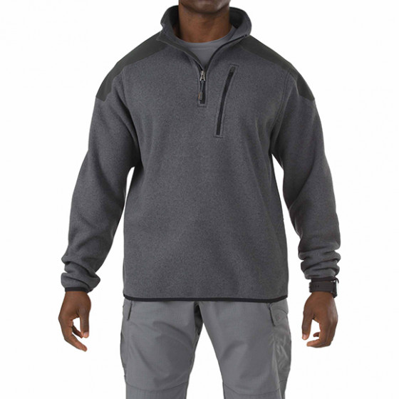 Толстовка 5.11 Tactical 1/4 Zip Sweater gun powder L