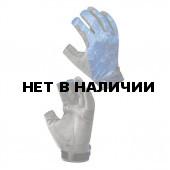 Перчатки Buff Pro Series Figting Work Skoolin Azul