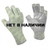 Перчатки рыболовные Buff Pro Series Angler Gloves Skoolin Sage